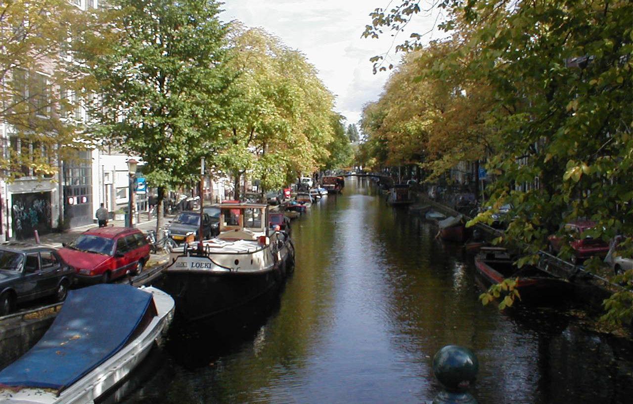 Town Canal Amsterdam