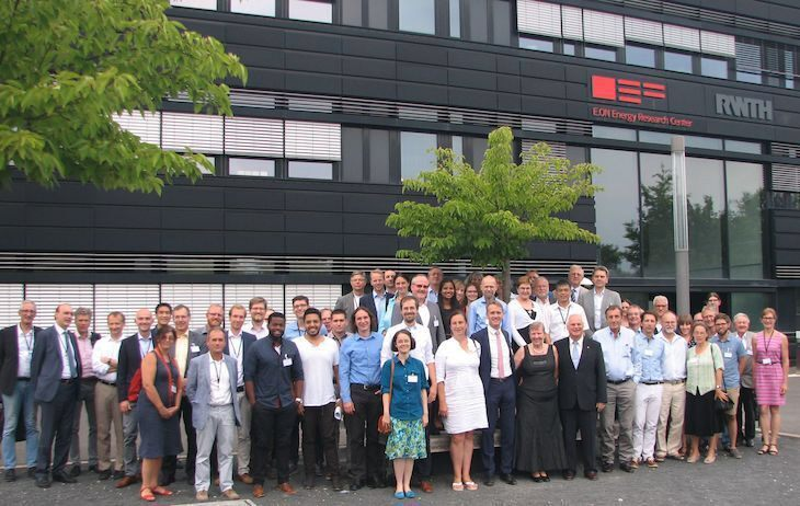 Group picture at E.ON ERC